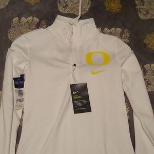 Nike women's oregon duck pullover